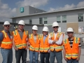 Student Jobsite Tour with DPR Const